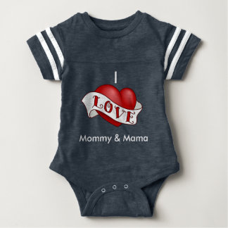 Amo la mamá y Momma Camisetas