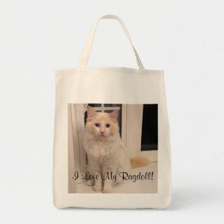 Amo la mi bolsa de asas de Ragdoll
