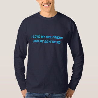 Amo la mi camisa de los hombres de la novia y del