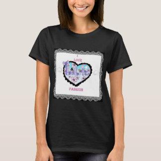 amo la moda del lolita camiseta