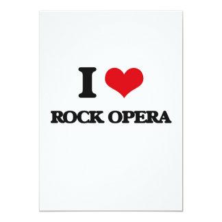 Amo la ÓPERA ROCK Invitacion Personalizada