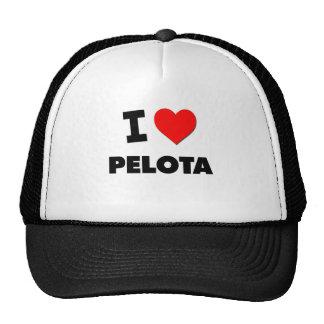 Amo la pelota vasca gorras