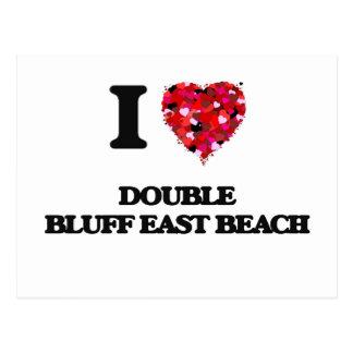 Amo la playa del este Washington del pen¢asco Postal