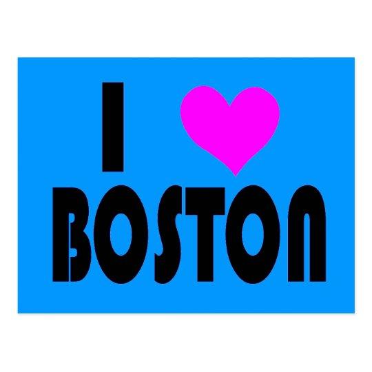Amo la postal de Boston