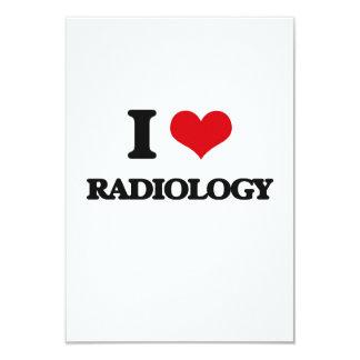 Amo la radiología anuncio