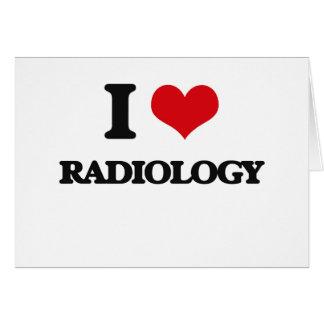 Amo la radiología felicitacion
