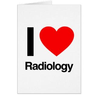 amo la radiología tarjeton