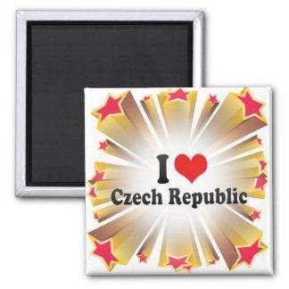 Amo la República Checa Imán