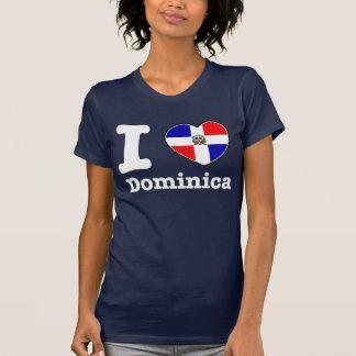 Amo la República Dominicana Camiseta