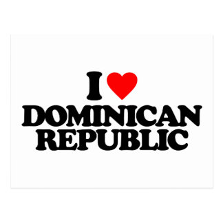 AMO LA REPÚBLICA DOMINICANA POSTAL
