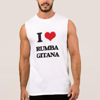 Amo la RUMBA GITANA Camiseta Sin Mangas