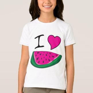 Amo la sandía camisetas