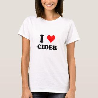 Amo la sidra camiseta