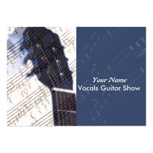 Amo la tarjeta de la industria musical grande tarjeta personal