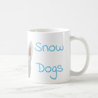 Amo la taza de café del husky siberiano de los
