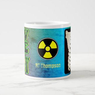 Amo la taza de café grande de la radiografía