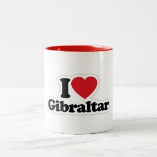 Amo la taza de Gibraltar