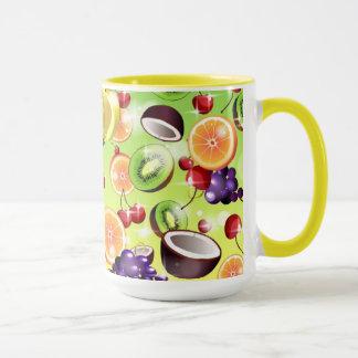 Amo la taza de las frutas