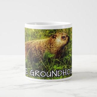 Amo la taza del día de la marmota