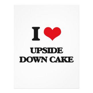 Amo la torta al revés folleto 21,6 x 28 cm