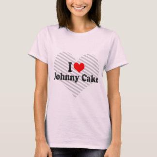 Amo la torta de Johnny Camiseta