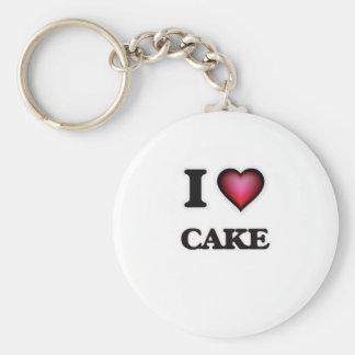 Amo la torta llavero