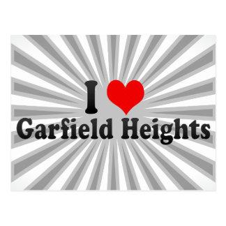 Amo las alturas de Garfield, Estados Unidos Postal