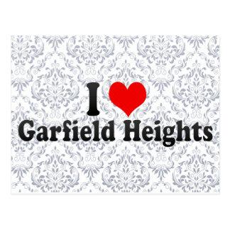 Amo las alturas de Garfield, Estados Unidos Postales