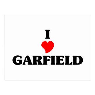 Amo las alturas de Garfield Postal