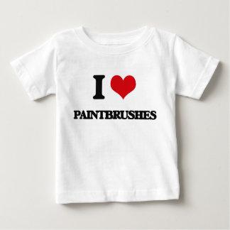 Amo las brochas camiseta