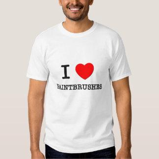 Amo las brochas camisetas