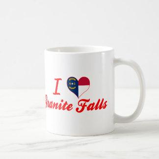 Amo las caídas del granito, Carolina del Norte Taza De Café