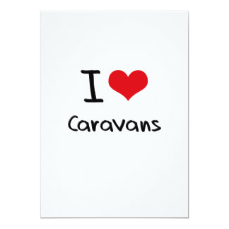 Amo las caravanas invitaciones personales