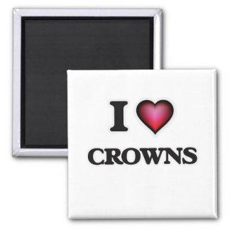 Amo las coronas imán