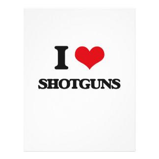 Amo las escopetas tarjetón