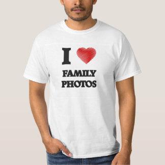 Amo las fotos de familia camisas