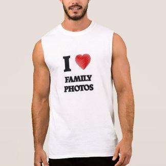 Amo las fotos de familia playera sin mangas