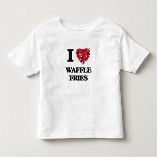 Amo las fritadas de la galleta camiseta
