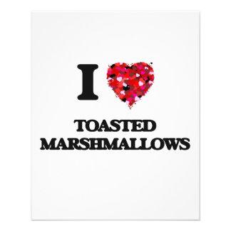 Amo las melcochas tostadas folleto 11,4 x 14,2 cm