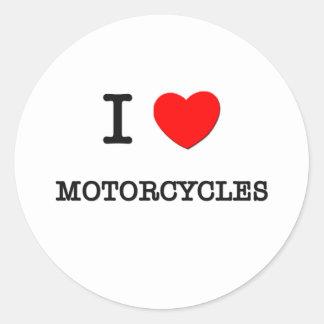 AMO LAS MOTOCICLETAS ETIQUETA