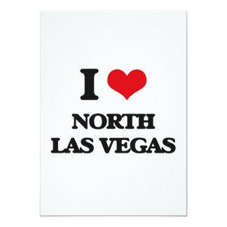 Amo Las Vegas del norte Invitación 12,7 X 17,8 Cm