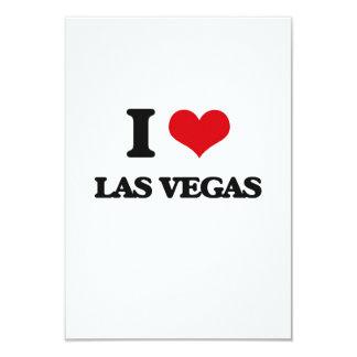 Amo Las Vegas Invitación 8,9 X 12,7 Cm