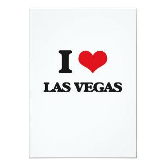 Amo Las Vegas Invitación 12,7 X 17,8 Cm