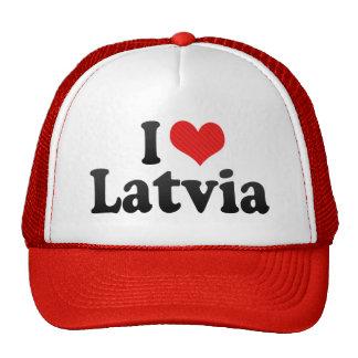 Amo Letonia Gorro De Camionero