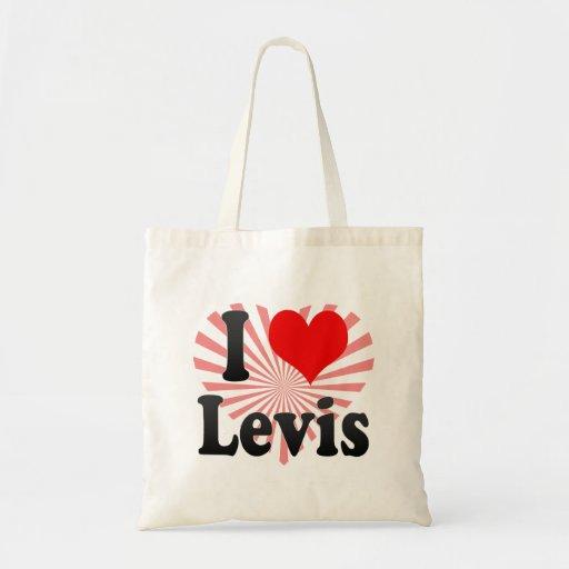 Amo Levis, Canadá. Amo Levis, Canadá Bolsa Lienzo