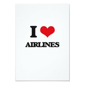 Amo líneas aéreas comunicado personalizado