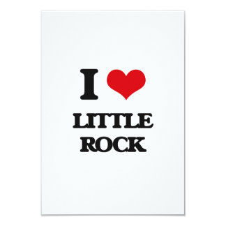 Amo Little Rock Invitación 8,9 X 12,7 Cm