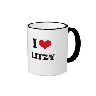 Amo Litzy Taza A Dos Colores
