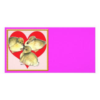 ¡Amo los anadones! Tarjetas Fotográficas