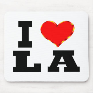 Amo Los Ángeles Alfombrilla De Ratón
